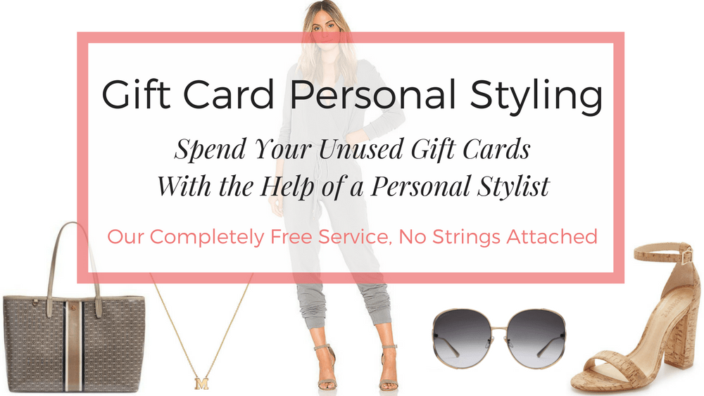 Gift Card Personal Styling - LUXYMOM™ Banner - Spend Your Unused Gift Cards with the Help of a Personal Stylist - Our Free Service (1)