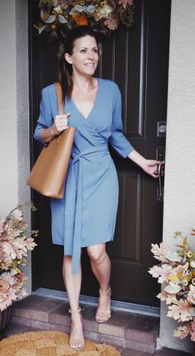 everlane wrap dress luxymom