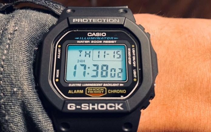 Casio G-ShockDW5600E-1V