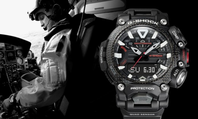 Casio G-ShockMaster of G (LuxyWish Durable watches collection)