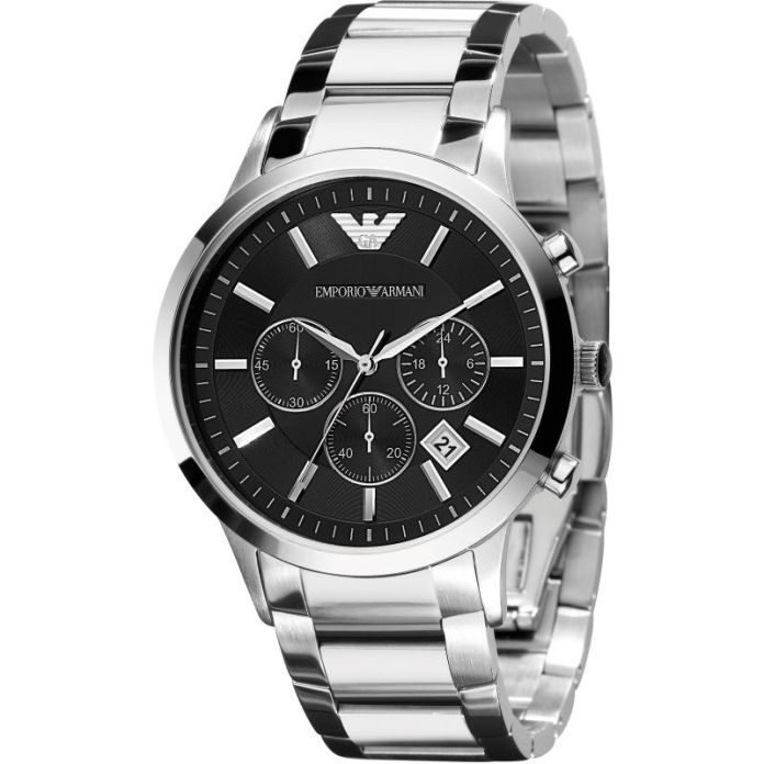 Cronograph Armani watches for men