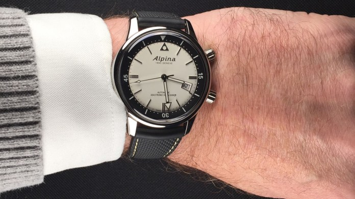 Alpina Seastrong Diver Heritage Watch