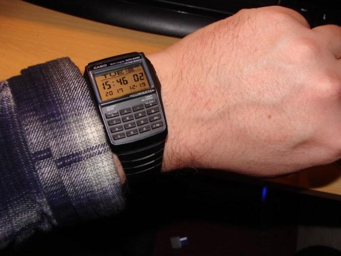 Casio DBC-32 Databank watch