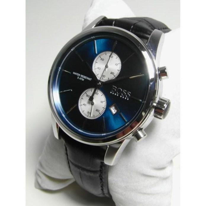 Jet Blue 41mm Hugo Boss Chronograph Watch