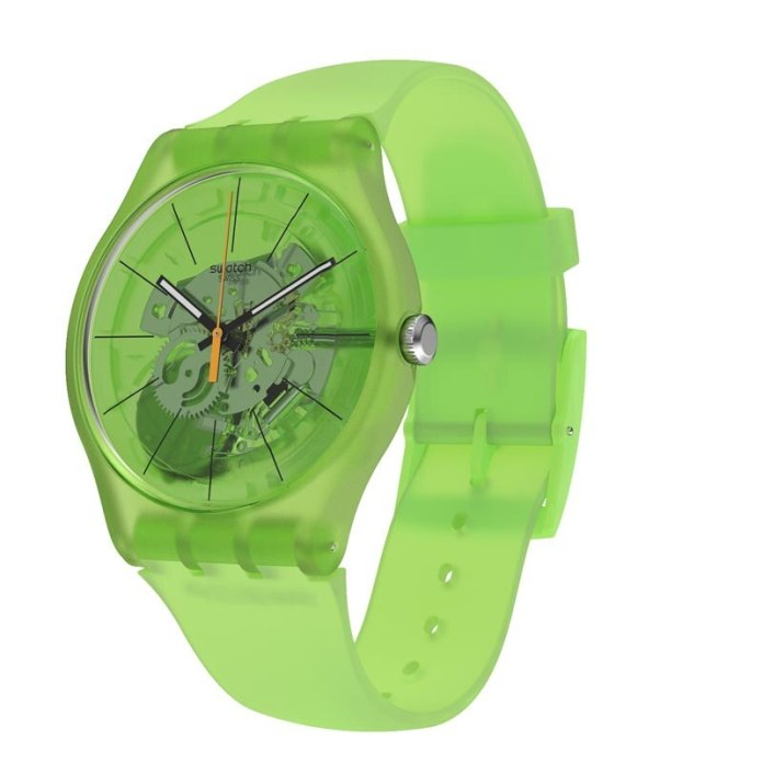 New Gent Kiwi Swatch Watches for Men