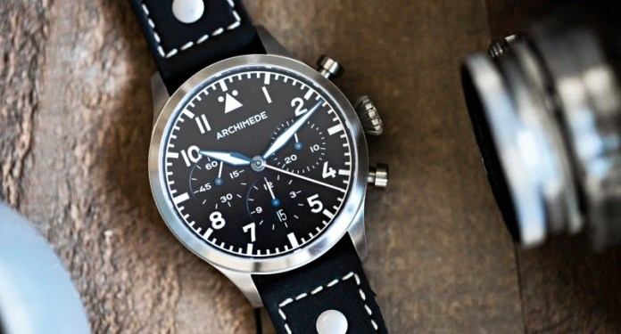 Pilot Chronograph TRI.H.S from Archimede