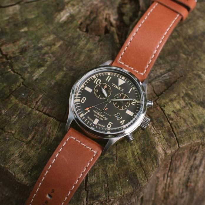 Timex Waterbury Chronograph watch