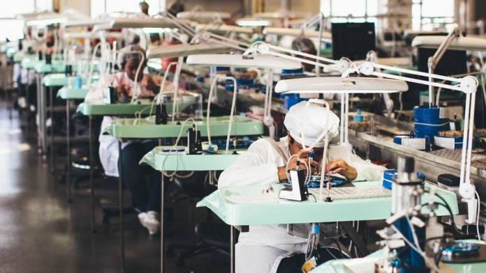 Watch Factory in China