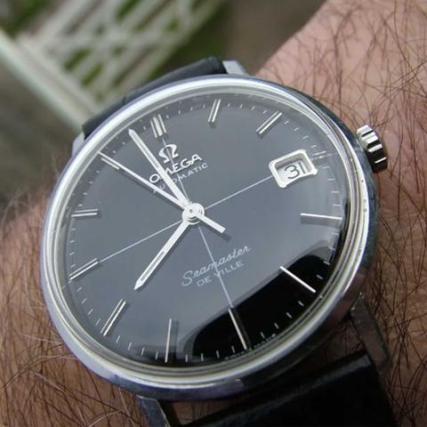 Crosshair watch dial type