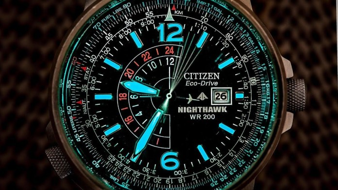 GMT Tool Watches Citizen Eco Drive Promaster Nighthawk