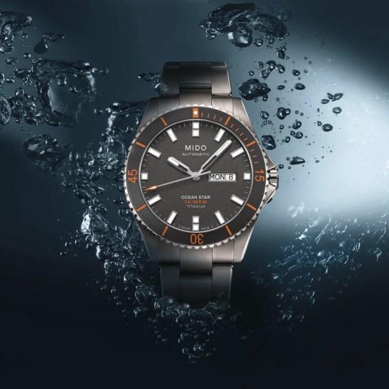 Mido Ocean Star 200 Titanium watches