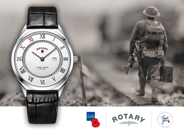 Rotary Watches AND THE ROYAL BRITISH LEGION