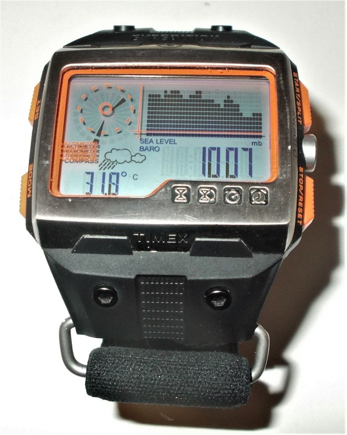 Vintage Timex Expedition WS4