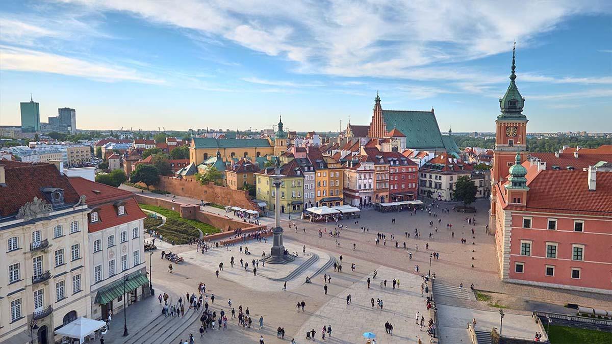 Plaza del Castillo de Varsovia
