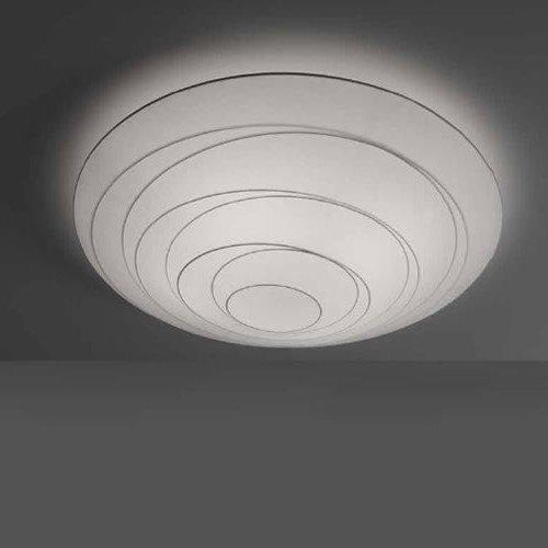 lámpara muelle acabado blanco