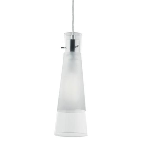 Lámpara de techo Kuky 1l transparente