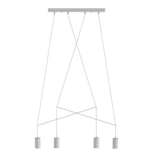 Lámpara techo Imbria 4L blanco