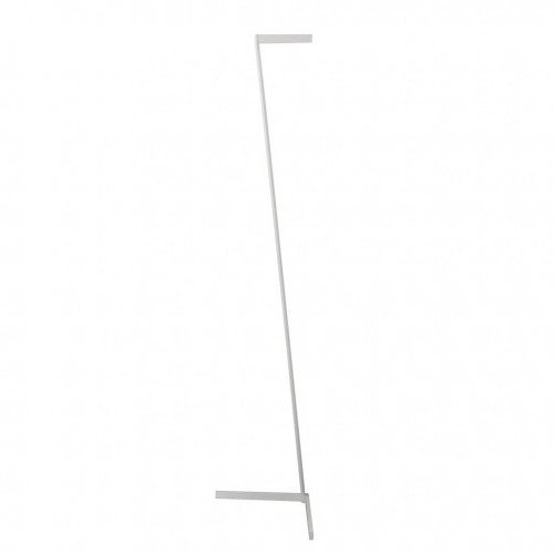 Lámpara de pie Vector blanco
