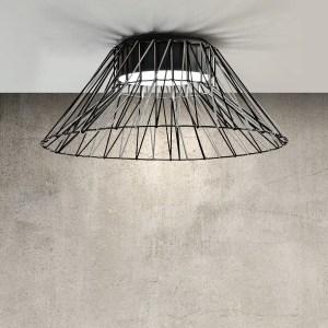 lámpara techo Bimba cónica