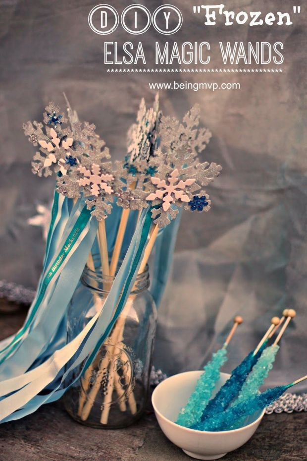 frozen elsa magic wands