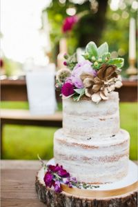 purple-and-gold-floral-topped-naked-cake