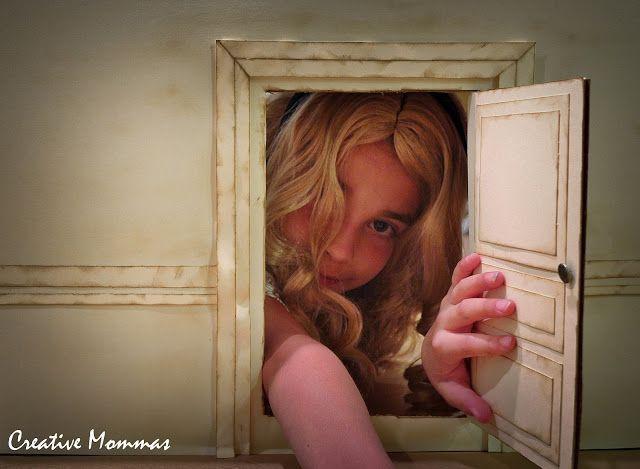 Alice in wonderland in house