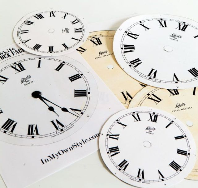 Clock-face-printables