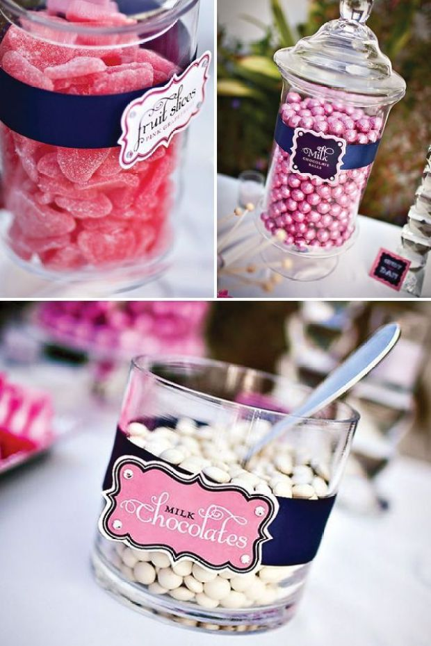 pink-navy-candy-buffet