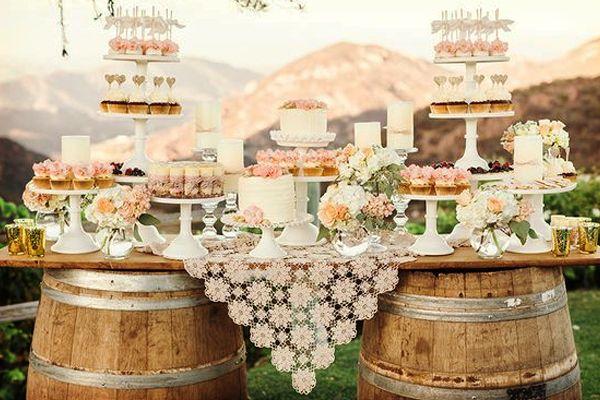 Una mesa de dulces estilo rustico shabby chic luz angela for Dulce boda