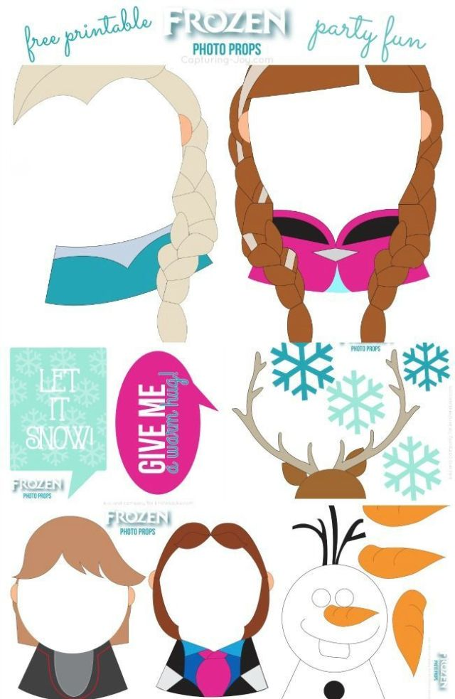 FROZEN-Photo-Booth-Free-Printable-Props