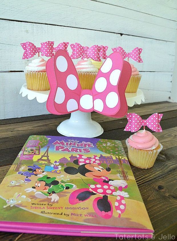 minnie-in-paris-free-bow-cupcake-toppers-
