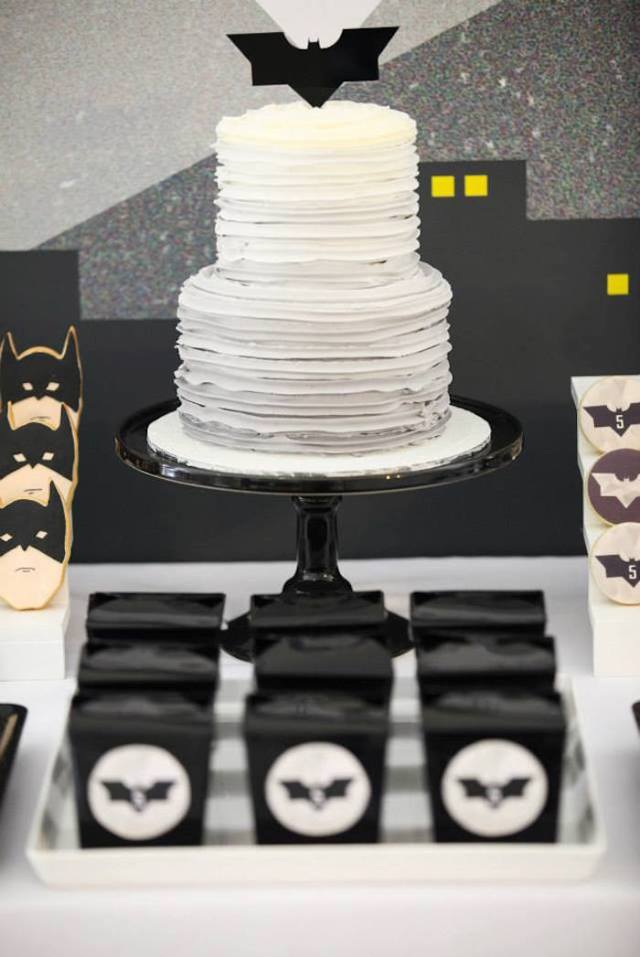 Tarta BAtman Superheroe