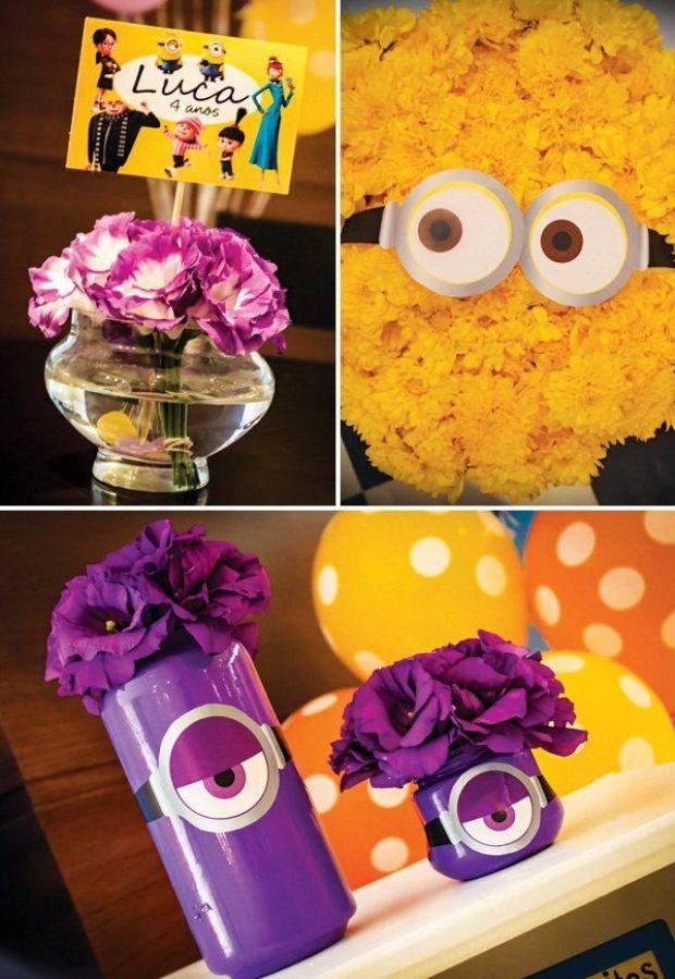 minion-party-flower-decor