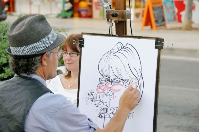 wedding-entertainment-caricaturist
