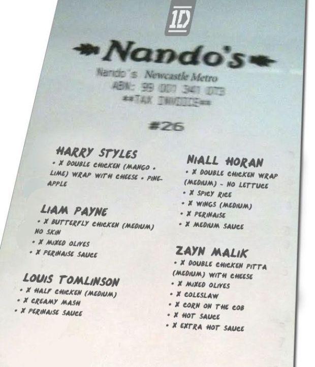 OneDirection-Nandos-receipt