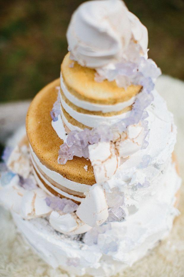 Amethyst-Wedding-Cake