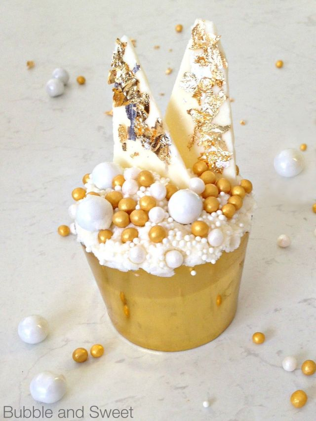 break the internet gold cupcakes gold leaf how to apply white chocolate shards katherine sabbath style inspired bubbles sprinkles pearls (1).jpg