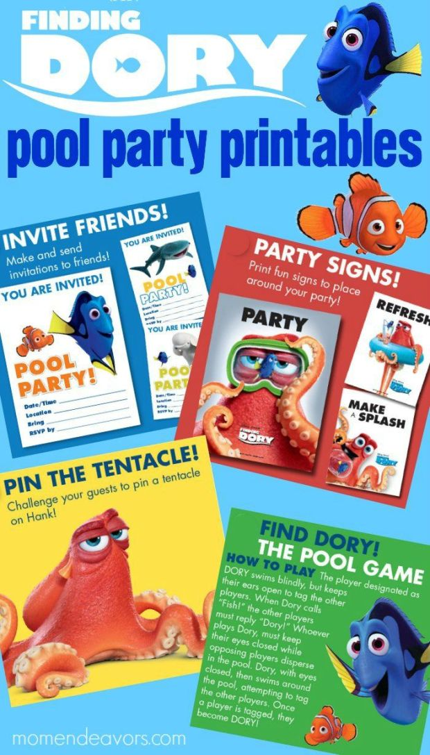Finding-Dory-Pool-Party-Printables