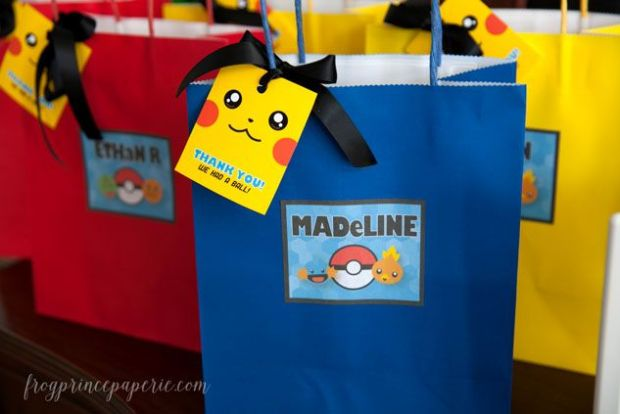 Pokemon-party-favor-bags