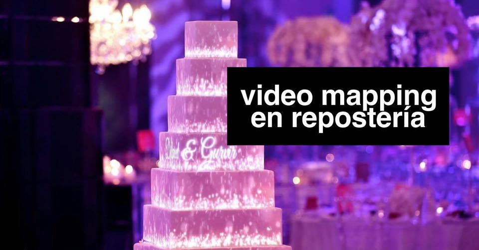 VIDEO MAPPING: LA TECNOLOGÍA DETRÁS DE LA TARTA PROYECTADA