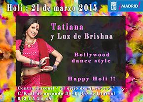 Fiesta de Holi 2015: La Primavera de la India
