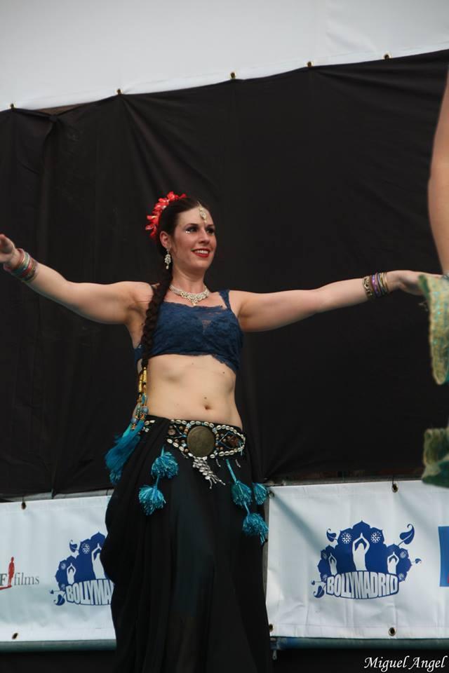 Luz de Brishna en Bollymadrid 2015