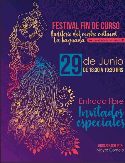 """Festival Fin de Curso Auditorio Centro Cultural """"La Vaguada"""""""