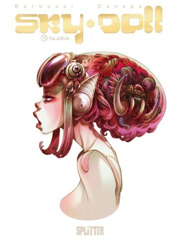 Cover des Skizzenalbums (Quelle: Splitter Verlag)