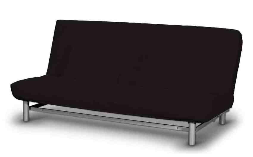 Wersalka IKEA Beddinge z czarnym pokryciem.