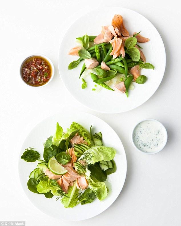 salmon two ways