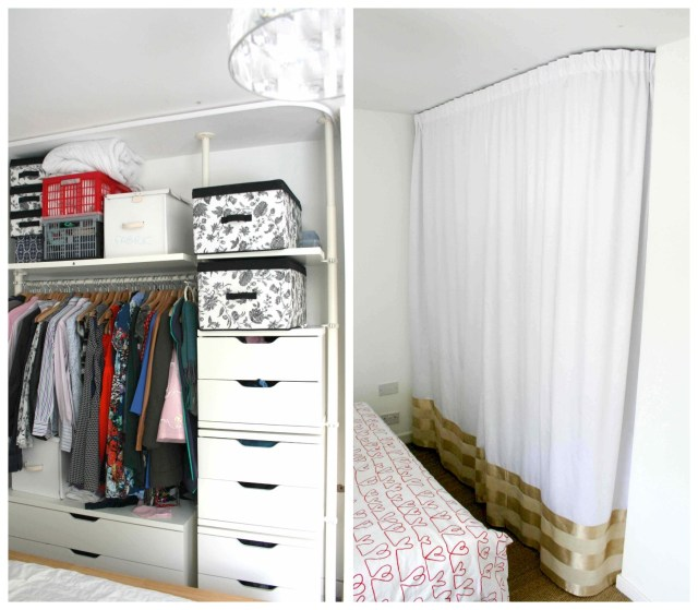 LuzPatterns before and after wardrobe