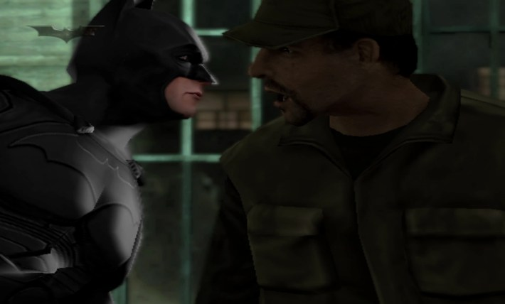 Batman Begins 2005 Game