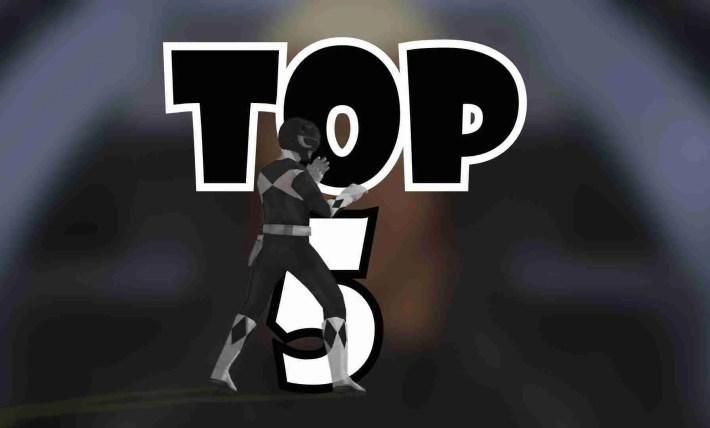 Top 5 BLACK Power Rangers