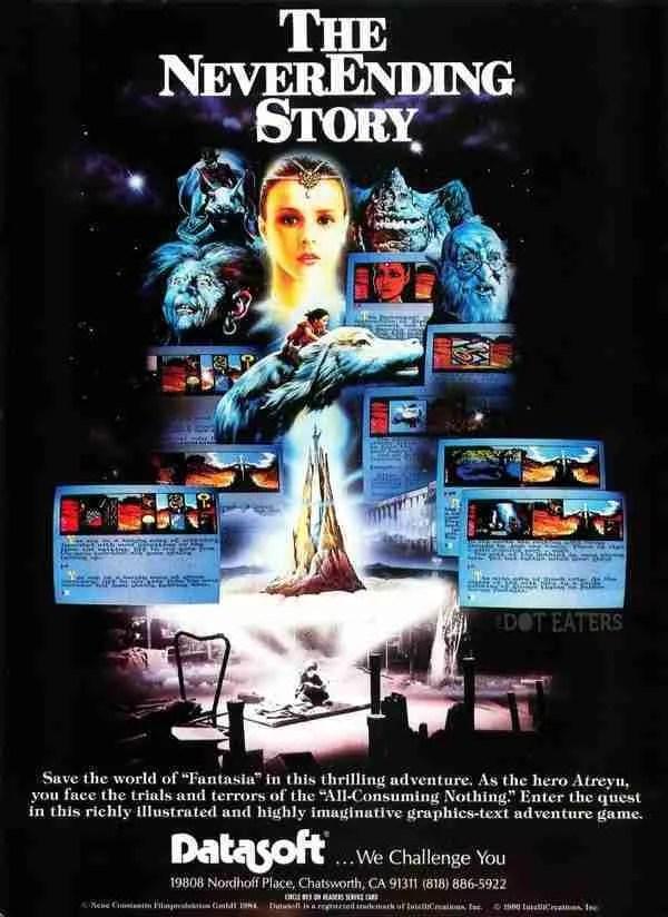 C64 Neverending Story Ad